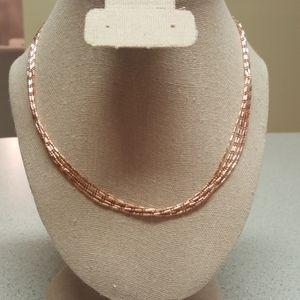 Copper 5 Strand Necklace